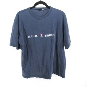 Vintage 90s BUM Equipment T Shirt Tee